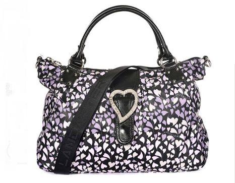 Sac port main de la marque lancaster violet univers sac - Pochette pour mettre dans sac a main ...